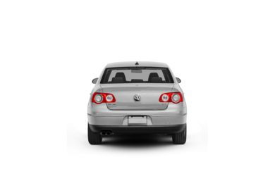 Surround Rear Profile 2009 Volkswagen Passat