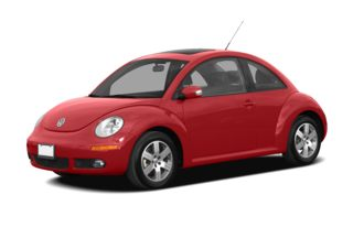 3/4 Front Glamour 2009 Volkswagen New Beetle