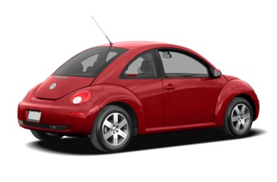3/4 Rear Glamour  2009 Volkswagen New Beetle