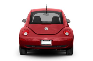 Rear Profile  2009 Volkswagen New Beetle
