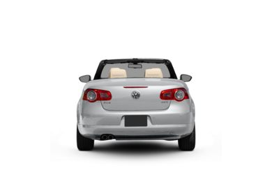 Surround Rear Profile 2009 Volkswagen Eos