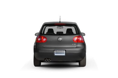 Surround Rear Profile 2009 Volkswagen Rabbit