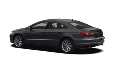 Surround 3/4 Rear - Drivers Side  2009 Volkswagen CC