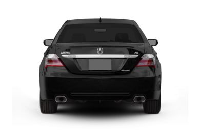 Rear Profile  2010 Acura RL