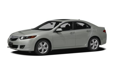 3/4 Front Glamour 2010 Acura TSX