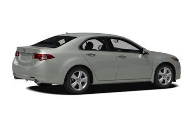 3/4 Rear Glamour  2010 Acura TSX