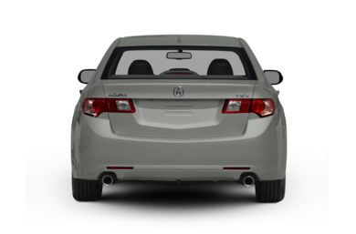 Rear Profile  2010 Acura TSX