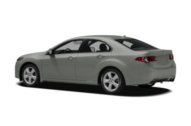 Surround 3/4 Rear - Drivers Side  2010 Acura TSX