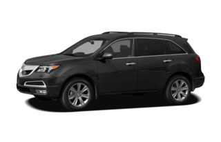3/4 Front Glamour 2010 Acura MDX