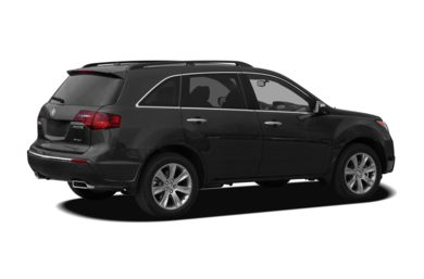3/4 Rear Glamour  2010 Acura MDX
