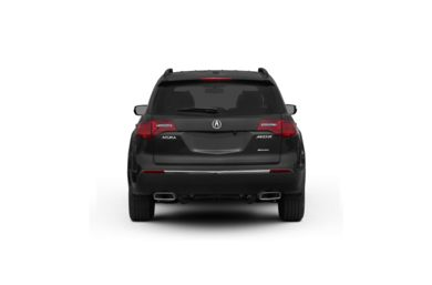 Surround Rear Profile 2010 Acura MDX