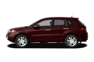90 Degree Profile 2010 Acura RDX