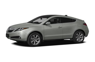 3/4 Front Glamour 2010 Acura ZDX
