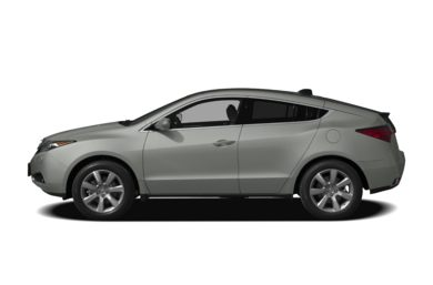 90 Degree Profile 2010 Acura ZDX