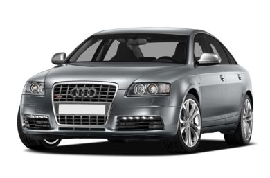 3/4 Front Glamour 2010 Audi S6