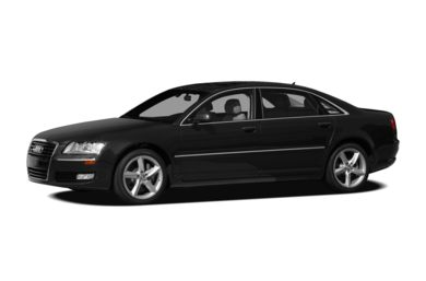 3/4 Front Glamour 2010 Audi A8