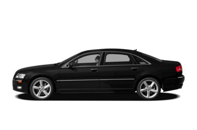 90 Degree Profile 2010 Audi A8