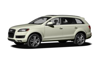 3/4 Front Glamour 2010 Audi Q7