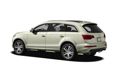Surround 3/4 Rear - Drivers Side  2010 Audi Q7