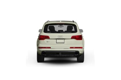 Surround Rear Profile 2010 Audi Q7
