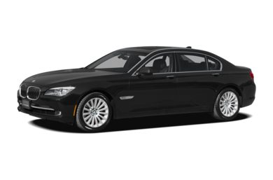3/4 Front Glamour 2010 BMW 750