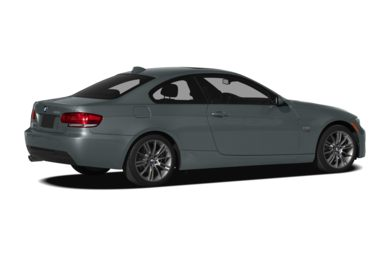 3/4 Rear Glamour  2010 BMW 328