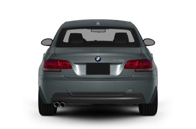 Rear Profile  2010 BMW 328