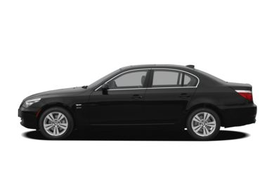 90 Degree Profile 2010 BMW 550
