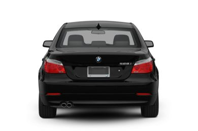 Rear Profile  2010 BMW 550