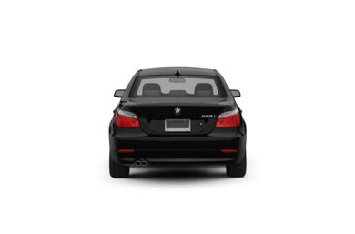 Surround Rear Profile 2010 BMW 550