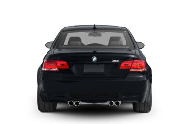 Rear Profile  2010 BMW M3