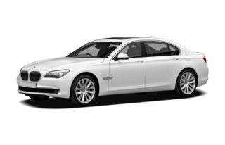 3/4 Front Glamour 2010 BMW 760