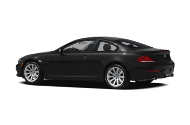Surround 3/4 Rear - Drivers Side  2010 BMW 650