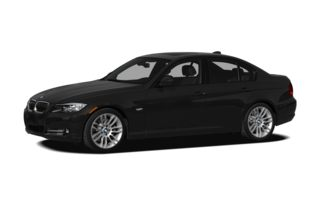 3/4 Front Glamour 2010 BMW 335d
