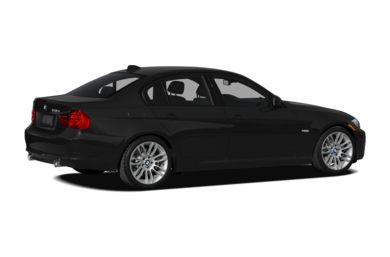 3/4 Rear Glamour  2010 BMW 335d