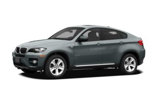 3/4 Front Glamour 2010 BMW X6