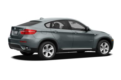 3/4 Rear Glamour  2010 BMW X6
