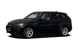 3/4 Front Glamour 2010 BMW X5 M