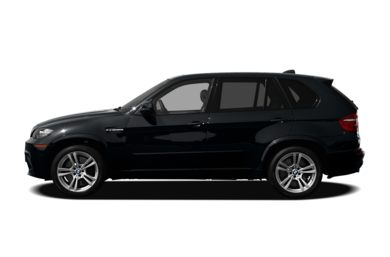 90 Degree Profile 2010 BMW X5 M