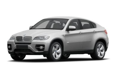 3/4 Front Glamour 2010 BMW ActiveHybrid X6