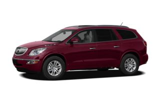 3/4 Front Glamour 2010 Buick Enclave