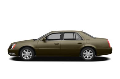 90 Degree Profile 2010 Cadillac DTS