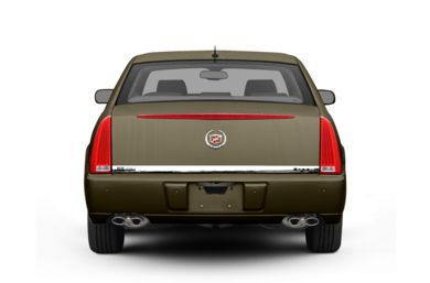 Rear Profile  2010 Cadillac DTS