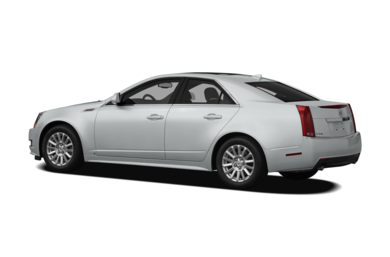 Surround 3/4 Rear - Drivers Side  2010 Cadillac CTS
