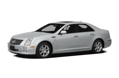 3/4 Front Glamour 2010 Cadillac STS