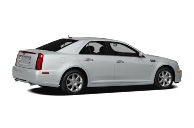 3/4 Rear Glamour  2010 Cadillac STS