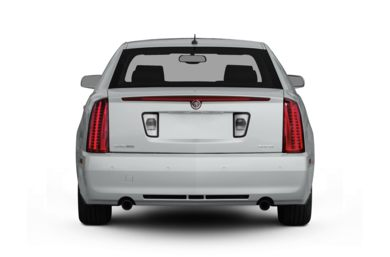 Rear Profile  2010 Cadillac STS