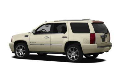 Surround 3/4 Rear - Drivers Side  2010 Cadillac Escalade