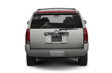 Rear Profile  2010 Cadillac Escalade ESV