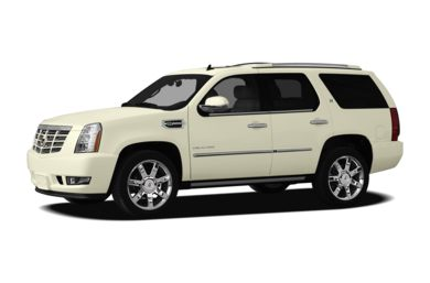 3/4 Front Glamour 2010 Cadillac Escalade Hybrid
